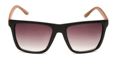 Front of Miller #54099 in Black/Brown Frame with Smoke Lenses