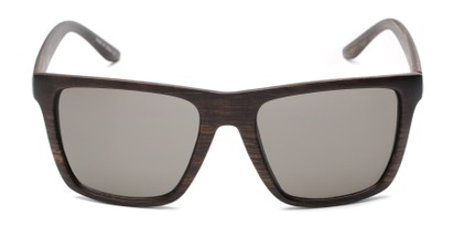 Front of Miller #54099 in Brown Frame with Grey Lenses