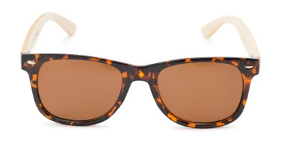 Front of Mohawk #1462 in Tortoise Frame with Brown Lenses