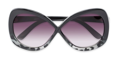 oversized womens butterfly shape sunglasses