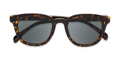 Folded of Myth #16091 in Tortoise Frame with Grey Lenses