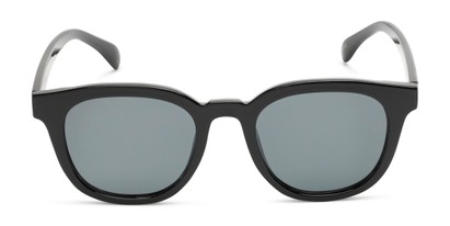Front of Myth #16091 in Black Frame with Grey Lenses