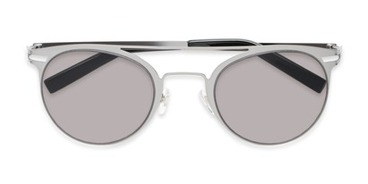 Folded of Nantucket #25014 in Matte Grey with Smoke Lenses