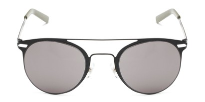 Front of Nantucket #25014 in Matte Black with Smoke Lenses