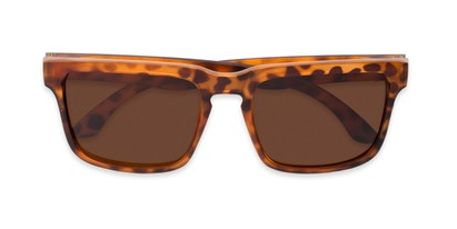 Folded of Niagara #2041 in Tortoise Frame with Amber Lenses