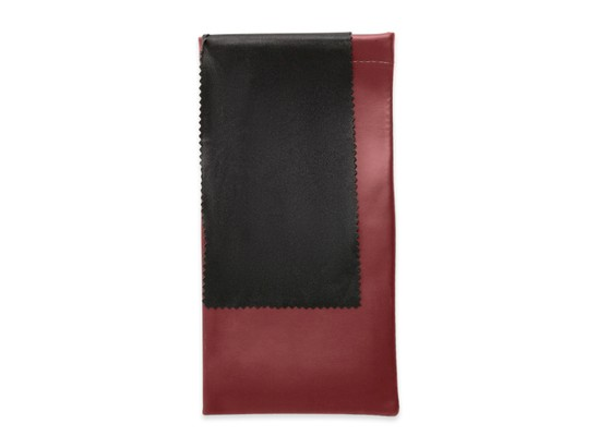 Angle of Nola #1072 in Dark Red, Women's and Men's  Soft Case