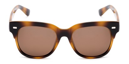 Front of Ophelia in Tortoise Frame with Amber Lenses