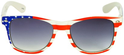 Image #1 of Women's and Men's SW American Flag Retro Style #9234