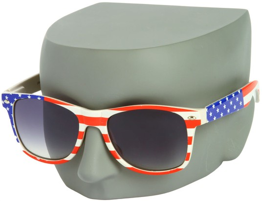 Image #3 of Women's and Men's SW American Flag Retro Style #9234