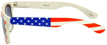 Image #2 of Women's and Men's SW American Flag Retro Style #9234
