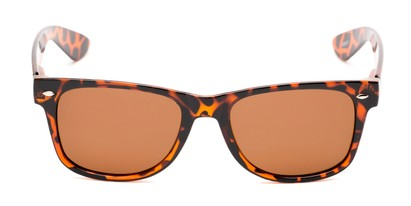 Front of Pacific #3009 in Tortoise Frame with Amber Lenses