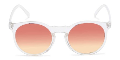 clear sunglasses colorful lenses