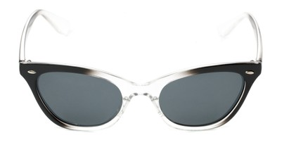 Front of Paris #2265 in Black/Clear Fade Frame