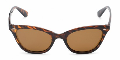 Front of Paris #2265 in Tortoise Frame with Amber Lenses