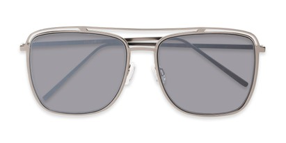 Folded of Patrick #31491 in Grey Frame with Smoke Lenses