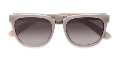 Folded of Payton #32027 in Grey Frame with Smoke Lenses