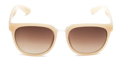 Overhead of Payton #32027 in Tan Frame with Amber Lenses