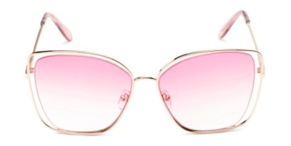 Front of Pegasus #1726 in Gold Frame with Pink Gradient Lenses