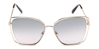 Front of Pegasus #1726 in Gold Frame with Green/Pink Gradient Lenses