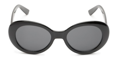 Front of Penny #7410 in Black Frame with Grey Lenses