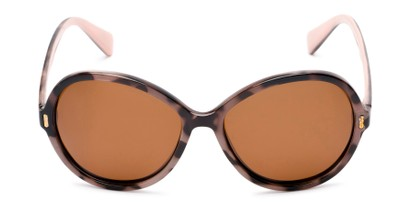 Front of Piper #3869 in Tortoise Frame with Amber Lenses