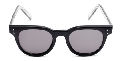 Front of Porter in Black Frame with Grey Lenses