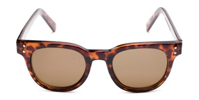 Front of Porter in Tortoise Frame with Amber Lenses