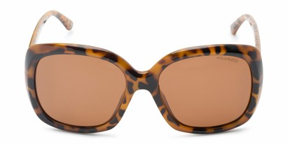 Front of Portugal #1015 in Light Tortoise Frame with Amber Lenses
