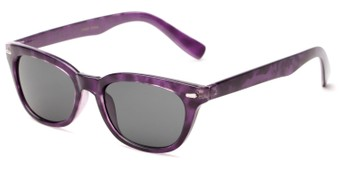 Angle of Ravine #2002 in Purple Tortoise Frame, Women's Retro Square Sunglasses