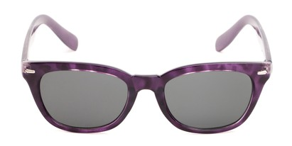 Front of Ravine #2002 in Purple Tortoise Frame