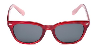 Front of Ravine #2002 in Red Tortoise Frame