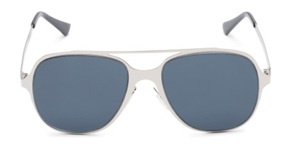 Front of Rex #4378 in Silver Frame with Grey Lenses