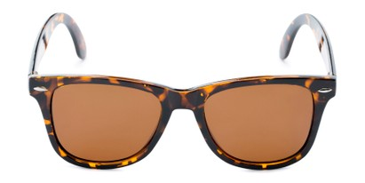 Front of Rockingham #1077 in Tortoise Frame with Amber Lenses