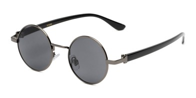 4b4b5a83938 Angle of Rounder  706 in Grey Frame with Grey Lenses