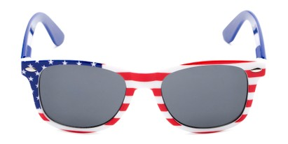 Front of Rushmore #2058 in Red/White/Blue with Blue Temples