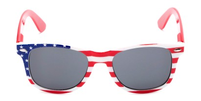 Front of Rushmore #2058 in Red/White/Blue with Red Temples