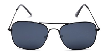 Front of Russell #6235 in Black Frame with Grey Lenses