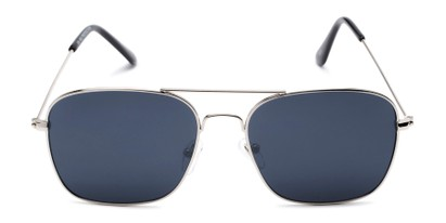 Front of Russell #6235 in Silver Frame with Grey Lenses