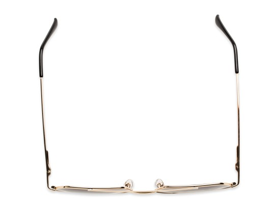 Overhead of Alice in Gold Frame with Smoke Gradient Lenses