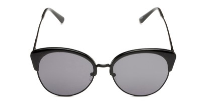 Front of Aubrey  in Black Frame with Grey Lenses