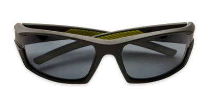 Folded of BGM 1801 by Body Glove in Grey Frame with Smoke Mirrored Lenses