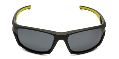Front of BGM 1801 by Body Glove in Grey Frame with Smoke Mirrored Lenses