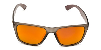 Front of BGM 2014 by Body Glove in Grey/Yellow Frame with Orange Mirrored Lenses