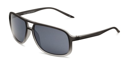 Angle of BGSPT 2003 by Body Glove in Grey Fade Frame with Smoke Lenses, Men's Aviator Sunglasses