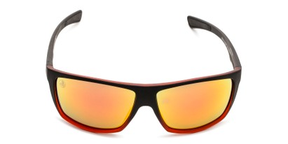 Front of BGSPT 2011 by Body Glove in Matte Black/Red Frame with Red Mirrored Lenses