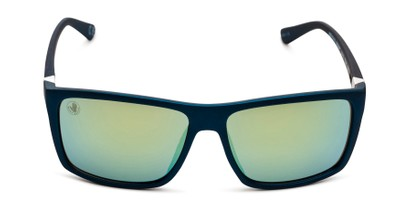 Front of BGSPT 2016 by Body Glove in Blue Frame with Yellow/Green Mirrored Lenses