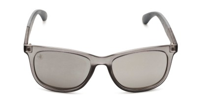 Front of BGSPT 2023 by Body Glove in Crystal Grey Frame with Silver Mirrored Lenses