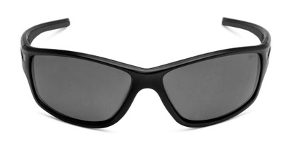 Front of Burton in Black Frame with Smoke Lenses