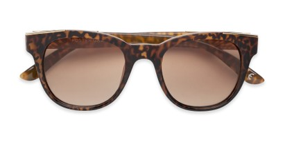 Folded of Dana by Foster Grant in Tortoise/Gold Frame with Amber Gradient Lenses