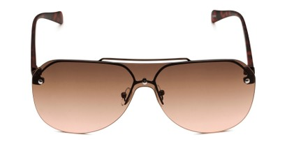 Front of Ember in Bronze/Tortoise Frame with Rose Gradient Lenses